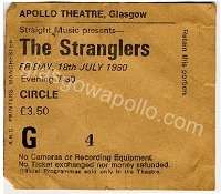 The Stranglers - Headline - Teaset - 18/07/1980